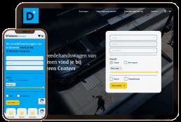 d'ieteren-car-centers-website-mockup